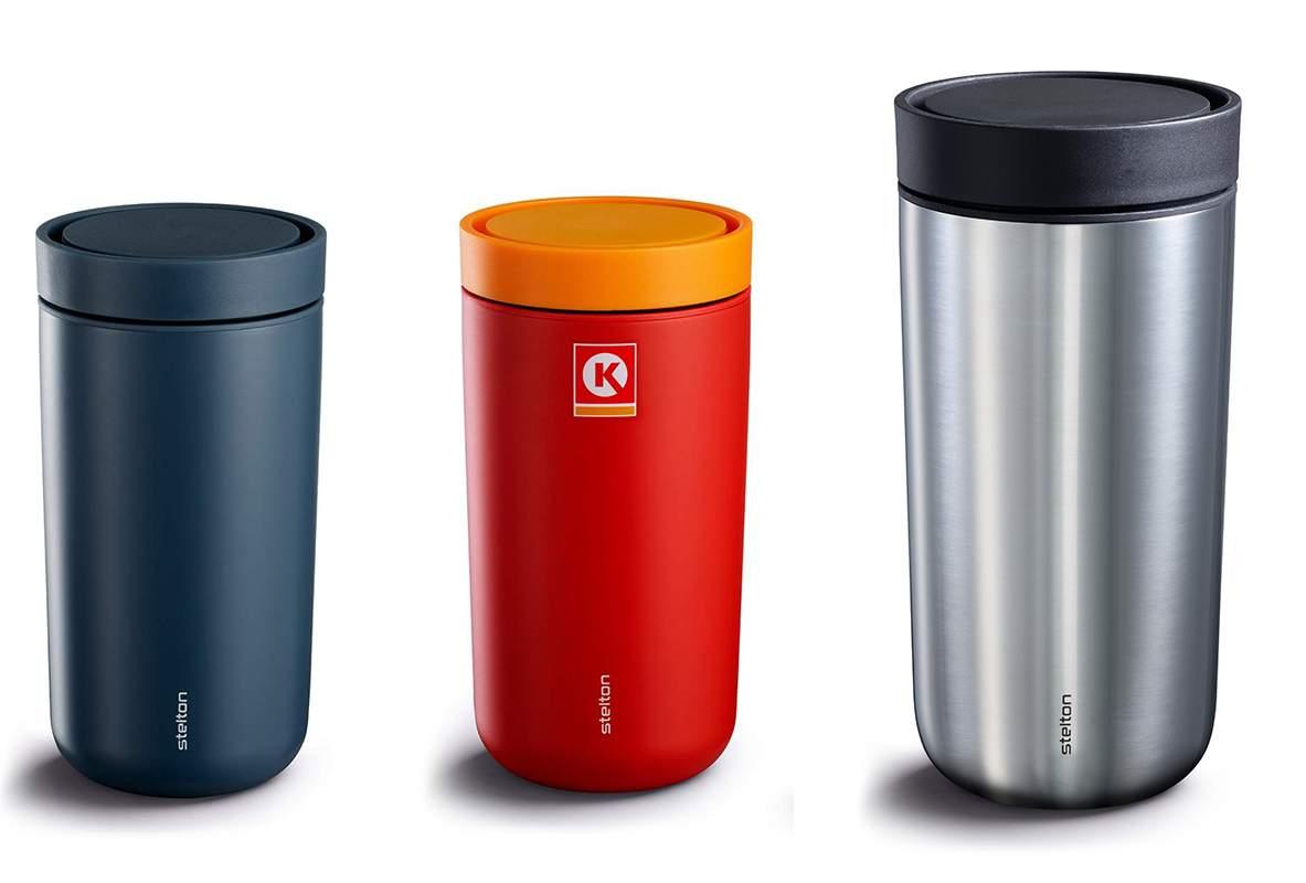 44421034 ... da får du en helt ny kopp. Om du ønsker å fortsette å bruke din gamle  kopp, kjøper du kun nytt oblat og gummibånd til kr 249. Foto: CIRCLE K