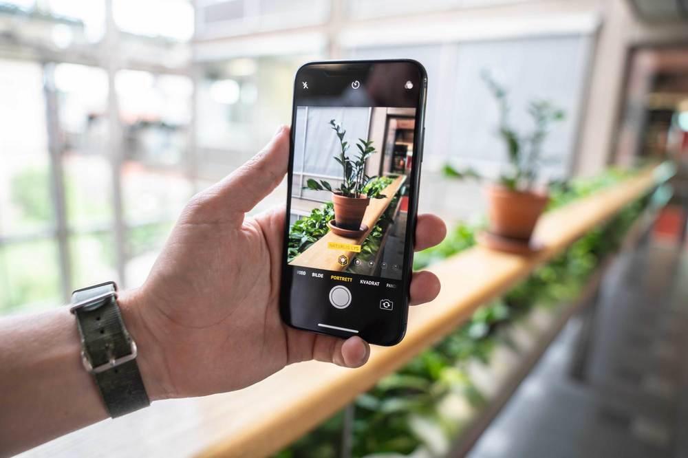 9995146e OVERLEGEN KVALITET: iPhone X tar knallskarpe bilder, og særlig lekre blir  bildene tatt i portrettmodus. Foto: VG Partnerstudio
