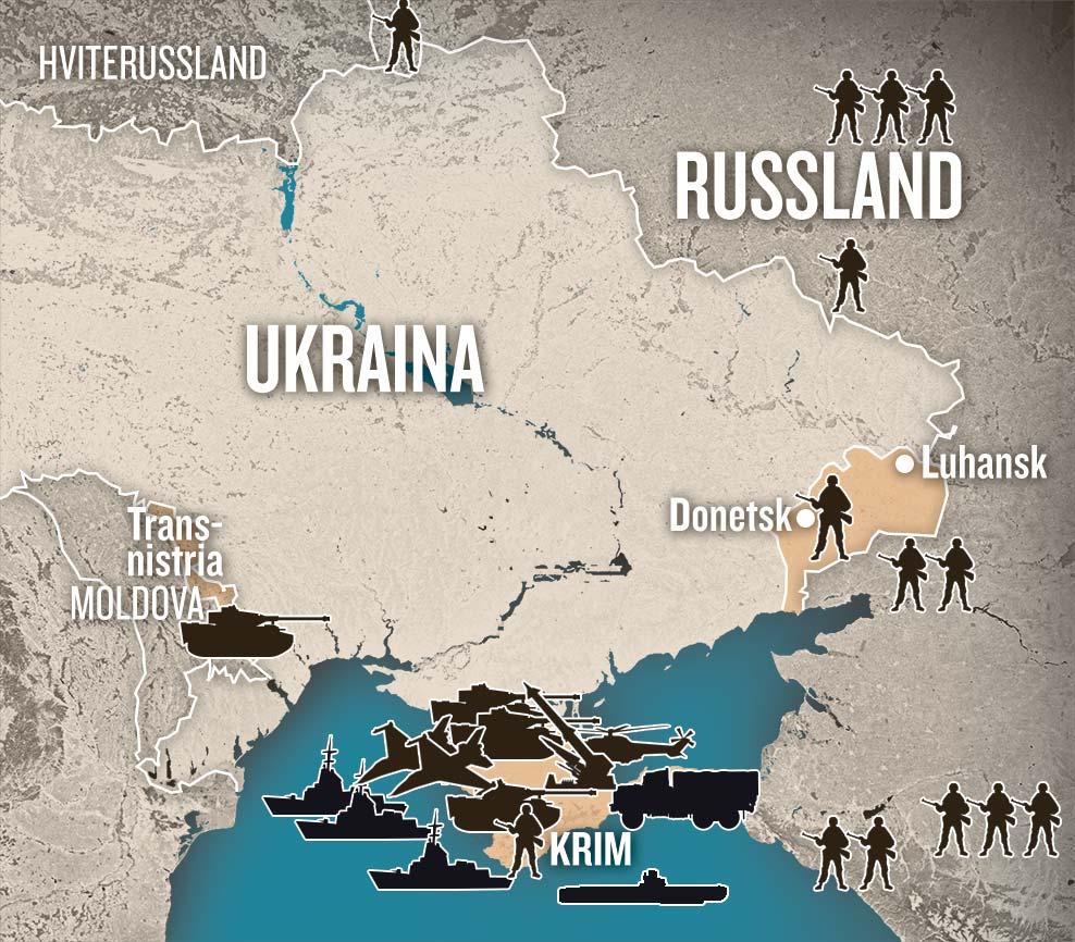 kart over ukraina og krim halvøya Krim kart kart over ukraina og krim halvøya