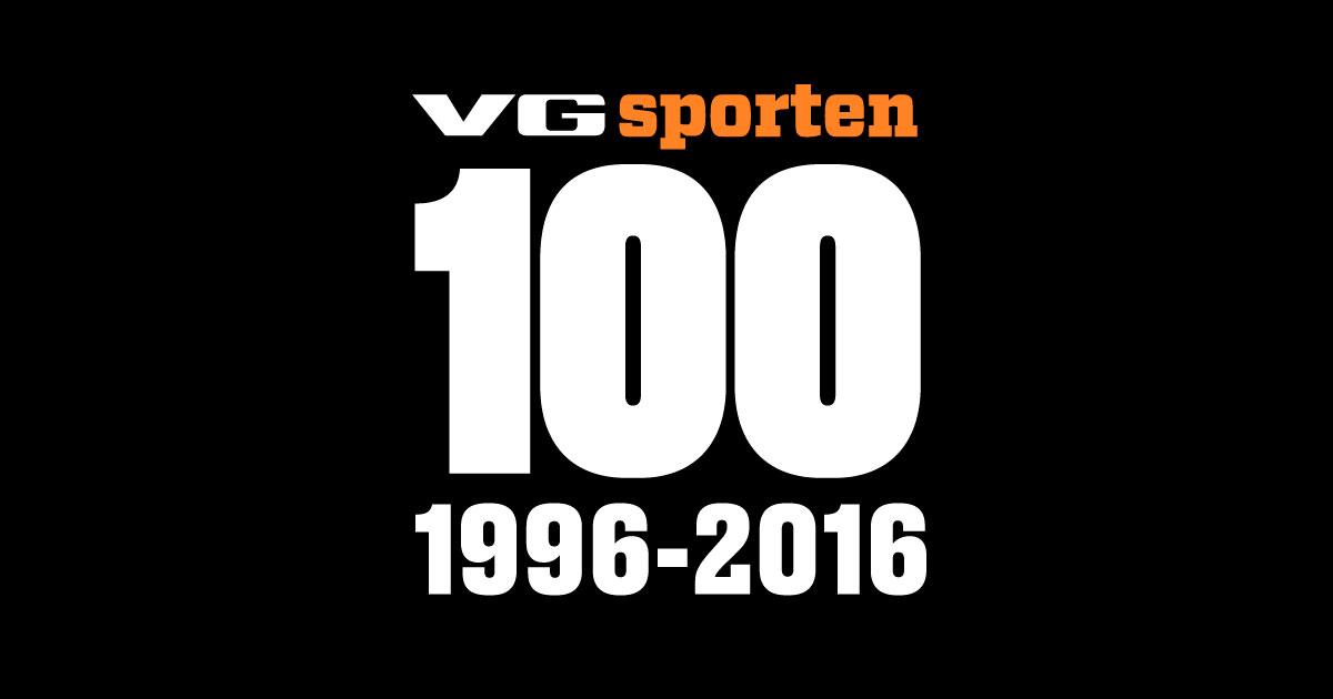 3e2fc666 Det er 20 år siden det aller første «100 største stjerner»-listen til  VG-sporten. Nå markerer vi jubileet med å publisere samtlige lister.