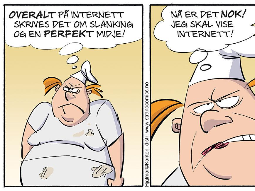 Dagens Hjalmar tegneserie